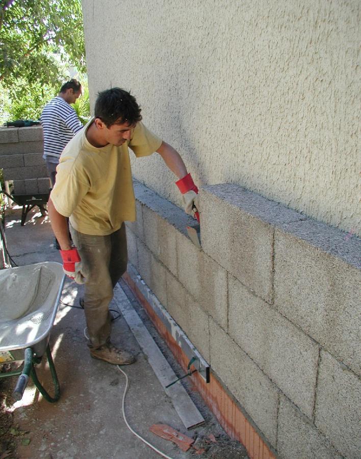 Isolamento pareti equilibrium bioedilizia equilibrio for Opzioni materiale esterno casa