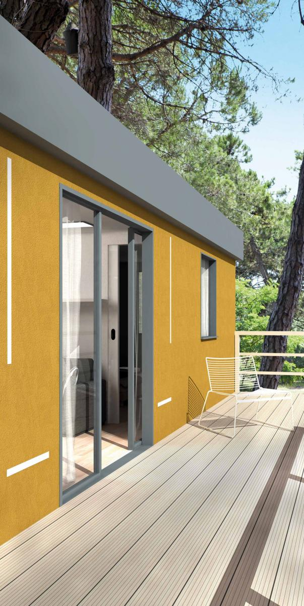 Ecoeden la casa mobile in Natural Beton® in canapa e calce