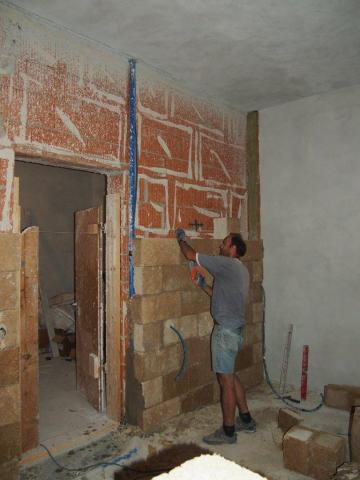 Isolamento termico a cappotto per interni  My-Rome...
