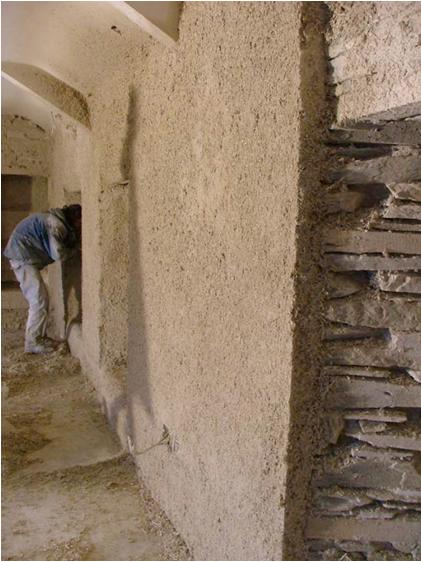 Isolamento pareti equilibrium bioedilizia equilibrio naturale costruito - Coibentare una parete interna ...