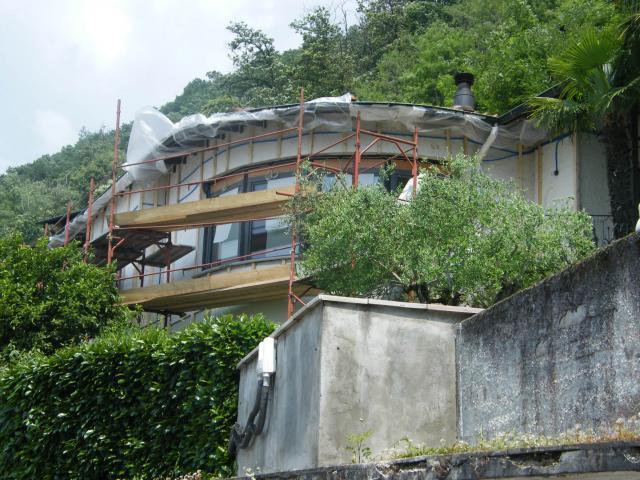 Bissone svizzera coibentazione esterna in natural beton for Piani di struttura esterna