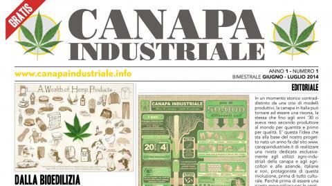 Canapa Industriale - nasce la rivista