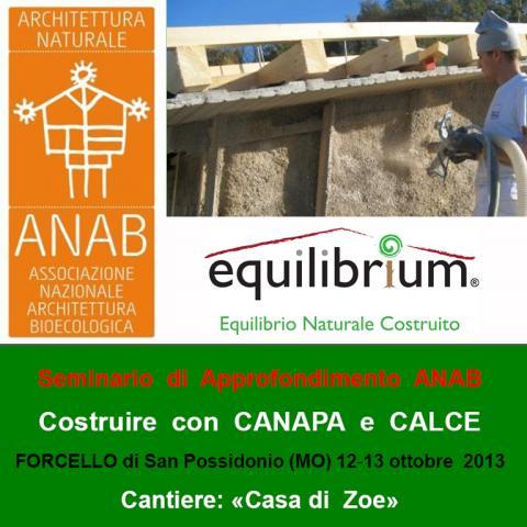 Cantiere Casa di Zoe - ANAB Equilibrium