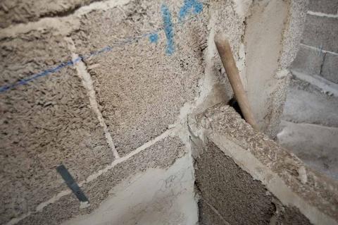 materiale biocompositi in canapa e calce