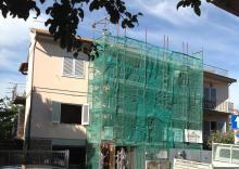 Ristrutturazione in canapa e calce a Montespertoli - Firenze