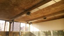 Palestra Healthy American Dance House - Reggio Emilia - Intonacatura in Natural Beton® di canapa e calce