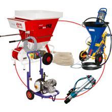 Vendita e noleggio macchine per la spruzzatuta di canapa e calce