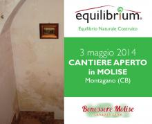 Cantiere Aperto in Molise - calce canapulo